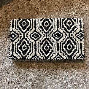 Mary Frances beaded clutch bag